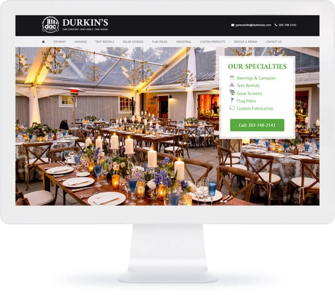 Durkins Inc Web Design