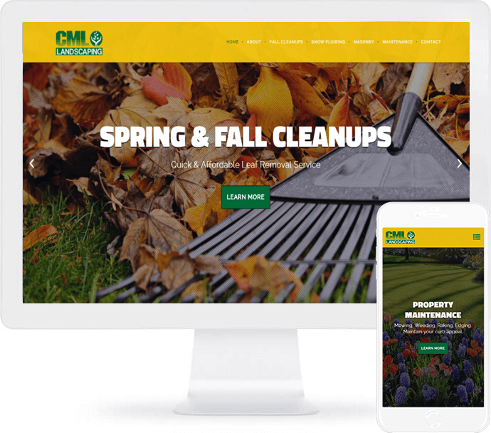 CML Landscaping Web Design
